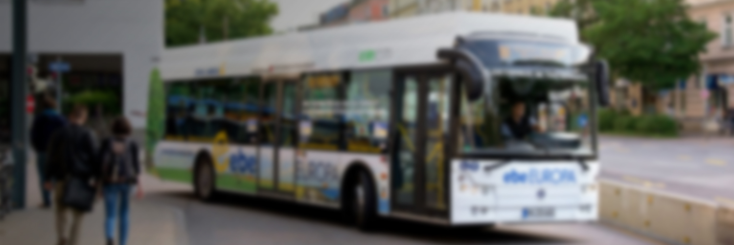 Electric bus monitored with ViriCiti's vehicle telematics.