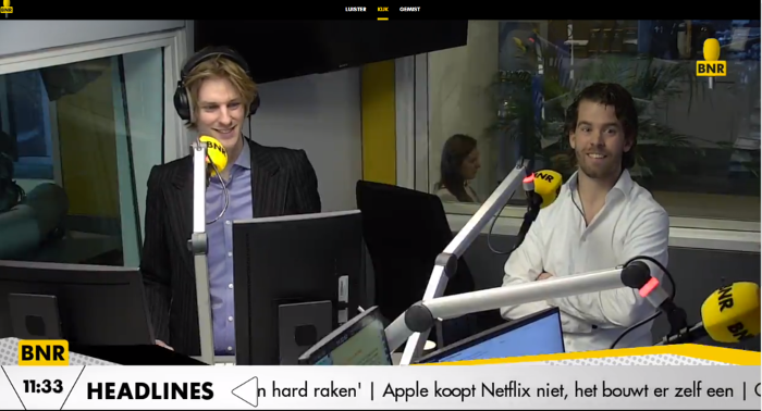 Freek Dielissen, CEO of ViriCiti was on BNR Zakendoen to talk about the EV Fleet Analyzer.